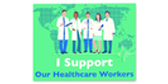I Support Our Health Care Workers Yard Sign