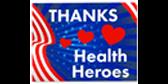 Thanks Health Heroes Yard Sign